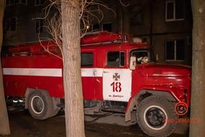 В Днепре на Байкальской в многоэтажке горел электрощит: дом остался без света