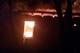 В Кривом Роге горел склад лесоматериалов
