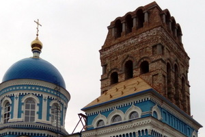 В Днепре завершается восстановление колокольни Свято-Благовещенского храма