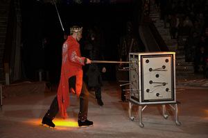 В цирке грандиозное ледовое шоу