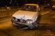 На Донецком шоссе водитель Opel влетел в столб и бросил машину: мужчину поймали полицейские