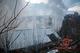 В Днепре в частном секторе горел жилой дом: мужчину с ожогами увезла скорая