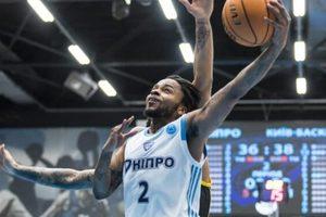 Суперлига: «Днепр» дома проигрывает «Киев-Баскету»