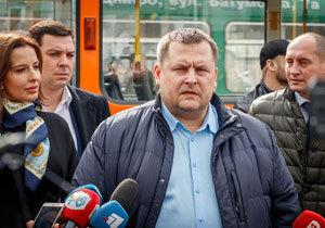 Остановки пассажирам первого трамвая будет объявлять Борис Филатов