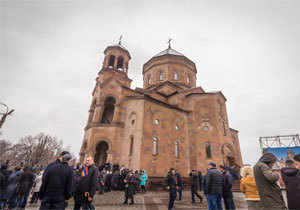 В Днепре освятили новый армянский храм - крупнейший во всей Восточной Европе