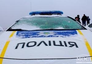На проспекте Ивана Мазепы похитили столб и фонарь - патрульные доставили подозреваемых в отделение полиции