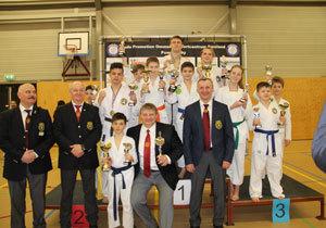 Днепряне завоевали 6 золотых медалей на международном турнире по рукопашному бою