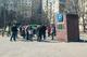 В Днепре на проспекте Героев жители митинговали против платной парковки