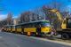 В Днепре на проспекте Ивана Мазепы трамвай №15 сошел с рельсов: движение электротранспорта заблокировано