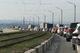 Огромная пробка на Кайдакском мосту в Днепре: люди опоздали на работу