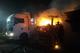 На Дніпропетровщині  внаслідок пожежі пошкоджено дві вантажівки