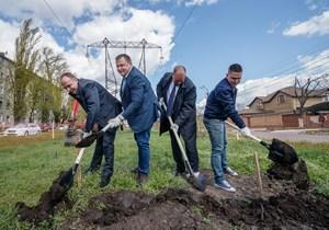 Борис Філатов дав старт будівництву електричної підстанції «Наддніпрянська»