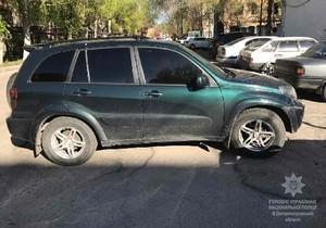 У Дніпрі правоохоронці виявили автівку, що знаходиться в розшуку