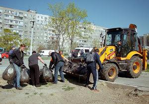 «Днепр - пространство чистоты»: В городе началась масштабная уборка