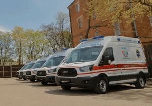 Автопарк скорой помощи в Днепре пополнили еще 10 современных машин