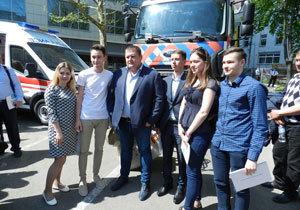 Мэр Днепра Борис Филатов предложил горожанам вместе идти к счастливому будущему