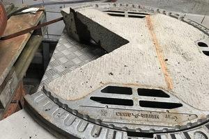 В Днепре собираются установить люки из чугуна и бетона весом в 233 килограмма