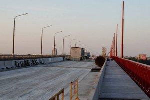 Первый день ремонта в 2019 г.: что происходит на Центральном мосту в Днепре?