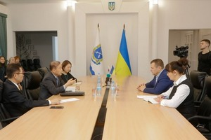 Борис Филатов провел встречу с Чрезвычайным и Полномочным Послом Республики Корея в Украине господином Ли Янг Гу
