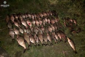 Патрульные Днепра продолжают выявлять рыбаков-браконьеров
