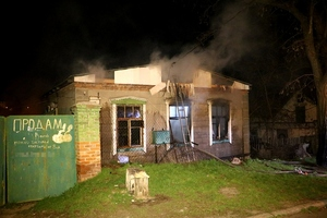 У Дніпрі на пожежі загинуло дві особи