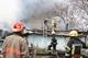 В Днепре на улице Валдайской горел частный дом площадью 100 кв. метров