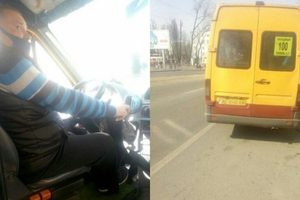 В Днепре водитель маршрутки №100 приятно удивил пассажиров