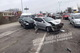 Возле Днепра столкнулись Audi, Daewoo Lanos и Chevrolet: пострадал один из водителей