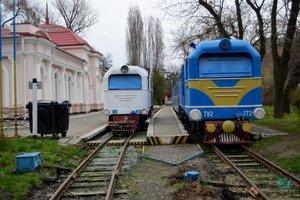 В Днепре готовятся к открытию детской железной дороги