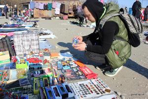 Барахольщик из Днепра: «На барахолке можно купить что угодно всего за 20 гривен»