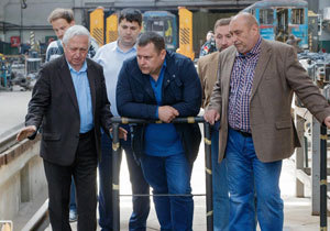 Борис Филатов: В Днепре «старая подземка» объединится с метрополитеном XXI века
