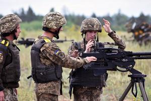 На Днепропетровщине прошли тактико-специальные занятия с боевыми стрельбами