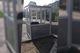 В Днепре в сквере Усачева двое парней разгромили будку, пока охранник был внутри
