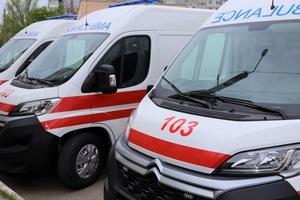 Днепропетровский областной центр экстренной медпомощи получил новые современные реанимобили