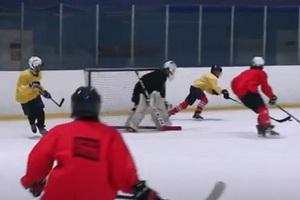 Юные хоккеисты из Днепра стали серебряными призерами чемпионата Украины