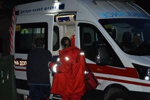 В Днепре ликвидируя возгорание, мужчина получил ожоги тела