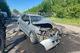 В Днепре водитель Mitsubishi  выехал на «встречку» и врезался в грузовик