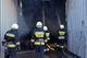 На проспекті Богдана Хмельницького згоріло 16 тонн сіна та ангар площею 450 квадратів
