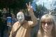 Сотни человек прошли колонной по центру Днепра против карантина, прививок от COVID-19 и всего остального