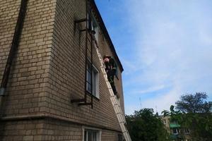 На Днепропетровщине пожарные спасли мать с ребенком
