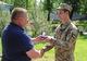 Военных медиков на передовой поздравили от имени председателя Днепропетровского облсовета
