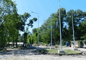 Как в Днепре реконструируют парк «Зеленый Гай»