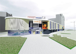 ТРЦ «Дафи» на Звёздном начал крупную реновацию фасада