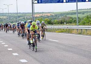 Объездную дорогу Днепра обкатали велосипедисты