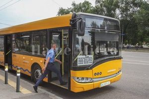 В маршрутках Днепра появились объявления о повышении тарифа на проезд
