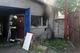 На улице Коксохимической  горела станция технического обслуживания