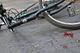 В Днепре на Аэропортовской Daewoo столкнулся с велосипедистом: водитель легковушки скрылся (момента ДТП)