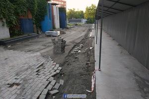 В Днепре начали ремонт бульвара Кучеревского