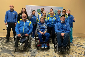 Виталий Плакущий из Каменского выиграл «золото» и «серебро» на паралимпийском Кубке мира по пулевой стрельбе