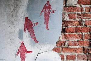 В Днепре проходит выставка граффити и других «настенных художеств»